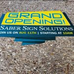 Cedar Park Indoor Signs Floor Graphic 150x150