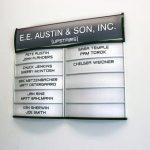 Austin Office Signs wayfinding directory lobby sign 150x150