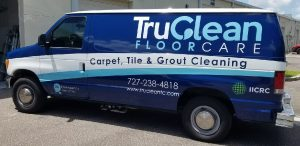 Liberty Hill Vinyl Printing Vehicle Wrap Tru Clean 300x146